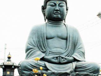 東大阪市ー神社、仏閣(石切大仏)