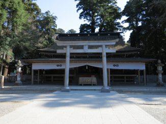 鹿嶋市-鹿島神宮 拝殿