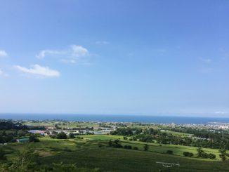 北海道伊達市-空 海 緑 02