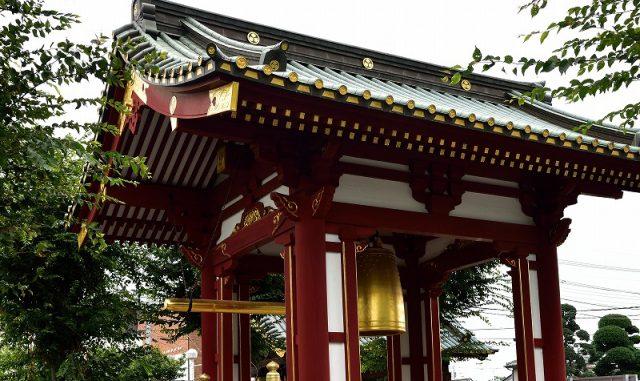 佐野市-(惣宗寺)金銅大梵鐘