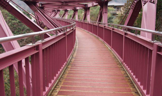 (加賀市)鶴仙渓-あやとり橋