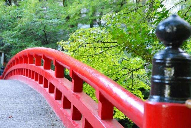 瀬戸市-瀬戸市岩屋堂公園の紅橋