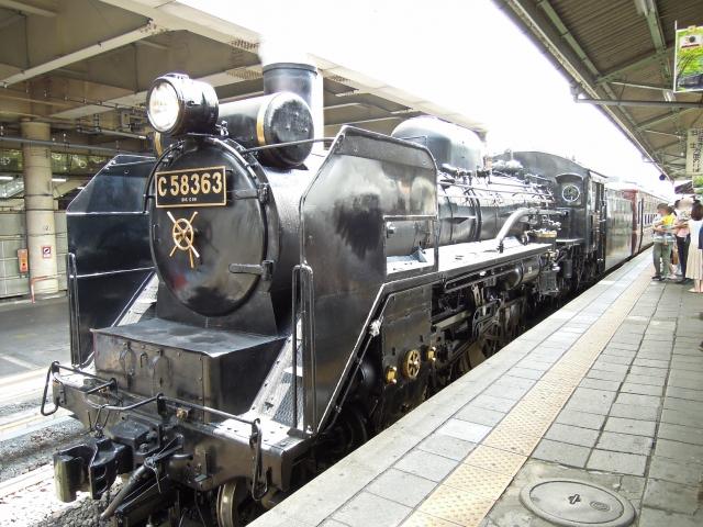 熊谷市-SLパレオエクスプレス 秩父鉄道 熊谷駅