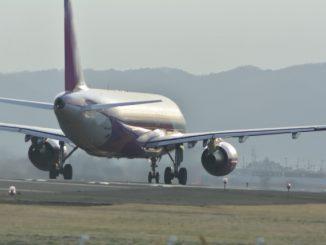 名取市-(仙台空港)飛行機