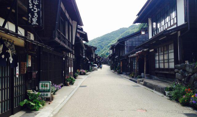塩尻市-奈良井宿