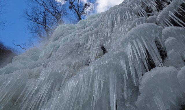 東温市-白猪の滝・氷爆