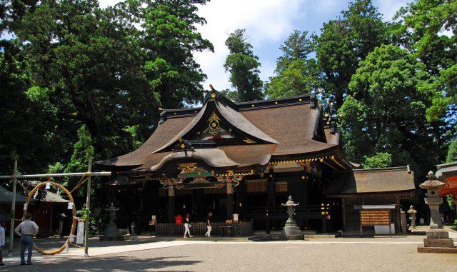 香取市-(香取神宮)神社で拝む