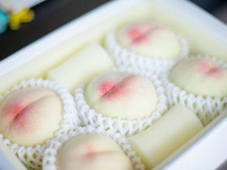 (赤磐市-白桃の発祥の地)白桃-フルーツ
