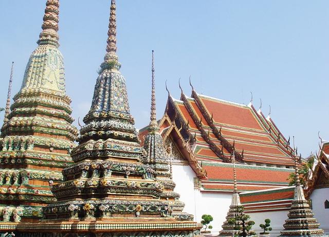 タイ-ワットポー-タイ寺院