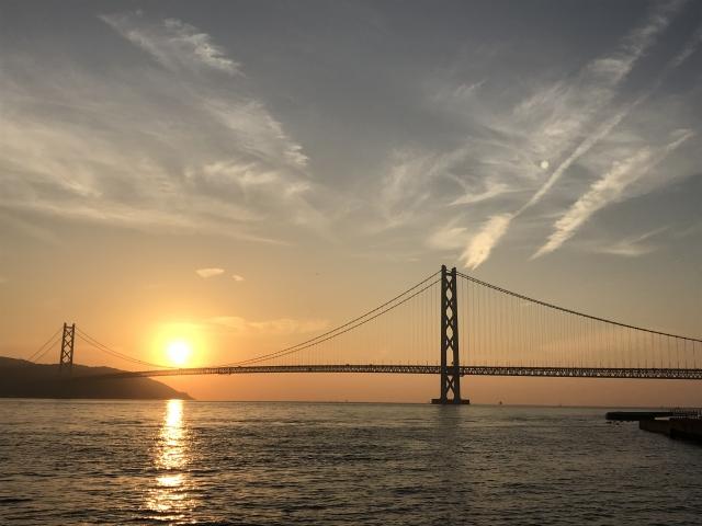 (神戸市垂水区)マリンピア神戸-明石海峡大橋