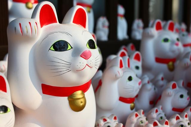 豪徳寺ー招き猫