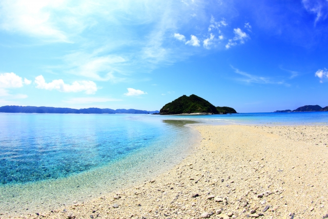 (沖縄)座間味島ー沖縄のビーチ