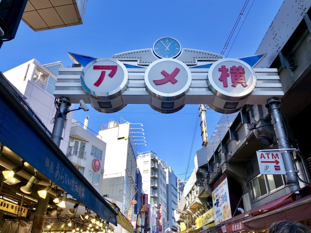 上野ー上野アメ横商店街