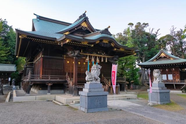 赤羽ー赤羽八幡神社 本殿