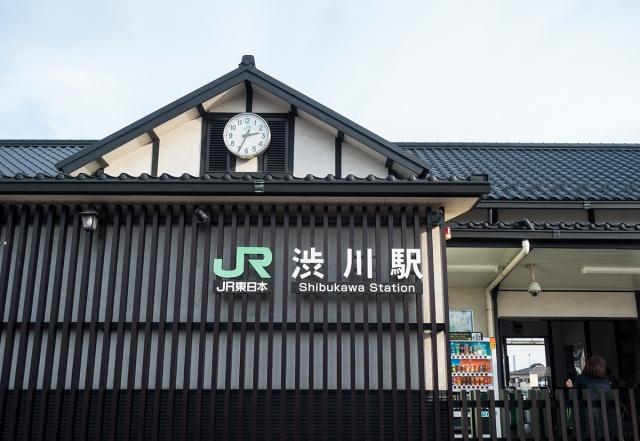 渋川ー渋川駅
