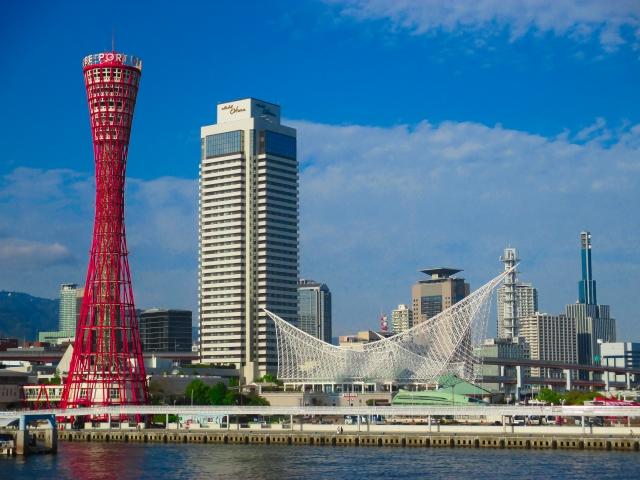 神戸-(神戸ハーバーランド) 神戸ポートタワー