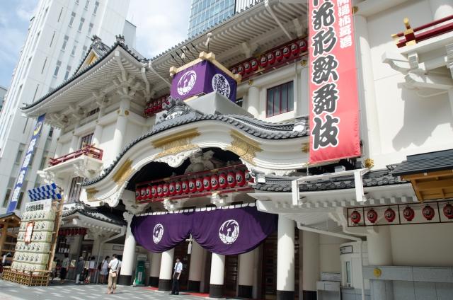 銀座-歌舞伎座の風景13