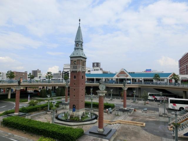 倉敷ー倉敷駅北口からくり時計台