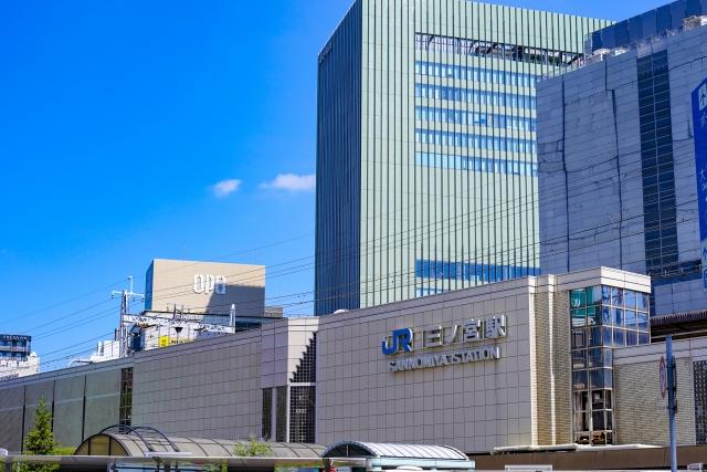 三宮-兵庫 三ノ宮駅の風景