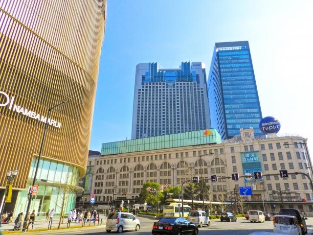 難波-大阪市のイメージ(南海難波駅)