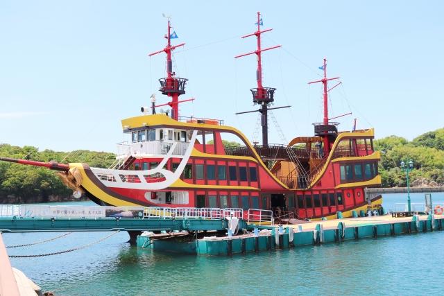 佐世保-九十九島巡り 海賊遊覧船みらい