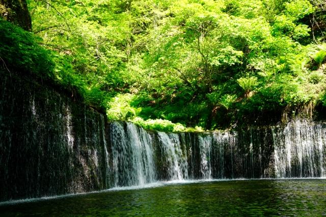 軽井沢-白糸の滝