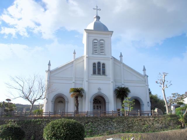 天草市‐大江天主堂 教会 隠れキリシタン カトリック教会 ガルニエ神父