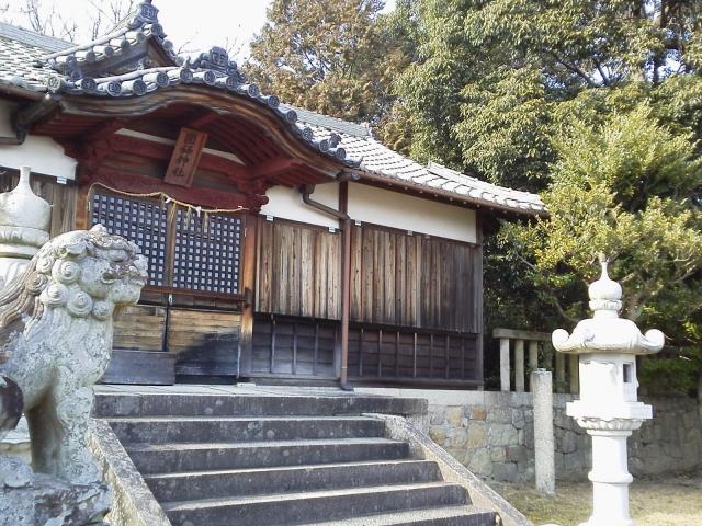 早島-神殿と狛犬