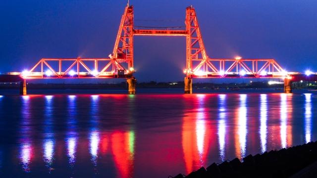 大川市‐昇開橋