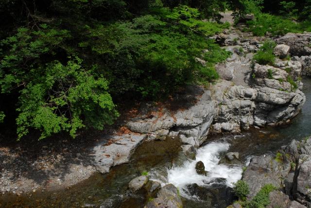 あきる野市‐秋川渓谷