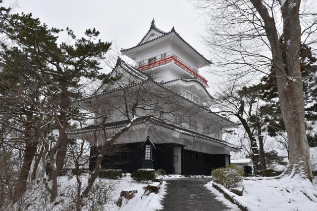 秋田-久保田城御隅櫓