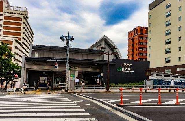 駒込-駒込駅の風景