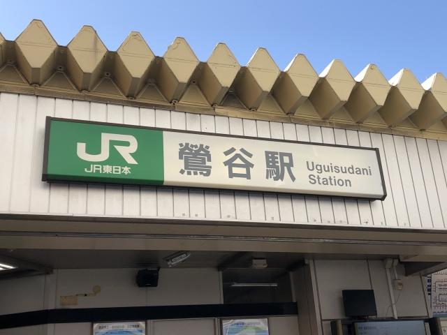 鶯谷-鶯谷駅