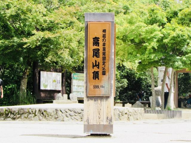 八王子-夏の高尾山山頂