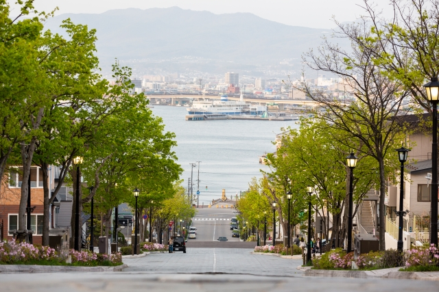 函館-函館・八幡坂