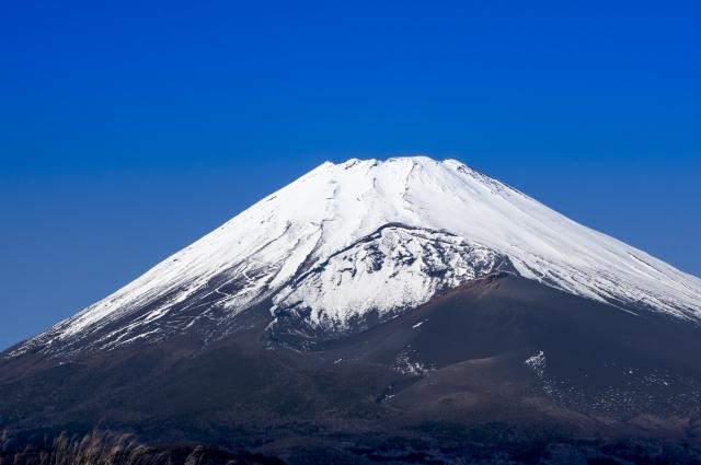 裾野市-裾野市から見た富士山